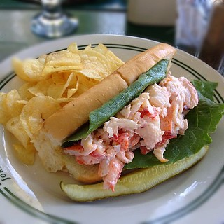 What do you go to Maine for? Lobster rolls--with mayo. When do you want them? Now.