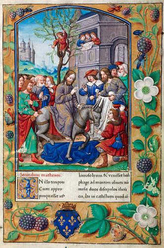 004-Evangeliario de París para uso de Carlos Duque de Angulema-1500-1600-Copyright Biblioteca Digital Hispánica