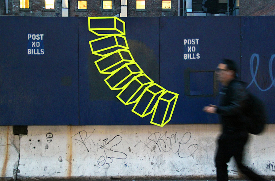 """Untitled (Post No Bills)"" by Aakash Nihalani"