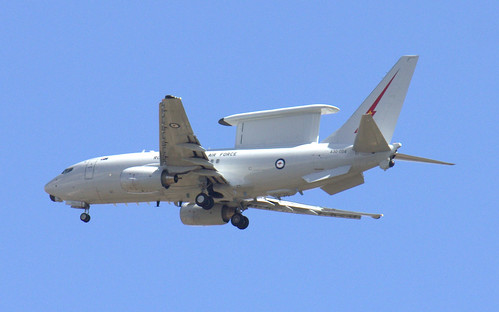 RAAF E-7A AEW&C Wedgetail A30-004 by CanvasWings