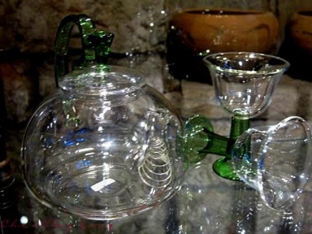 Jiufen tea house glass tea pot by Chic n Cheap Living