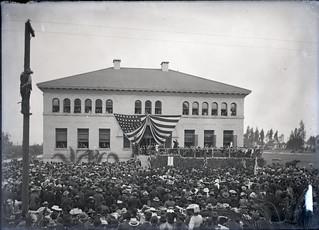 President Theodore Roosevelt at Pomona College (1903)