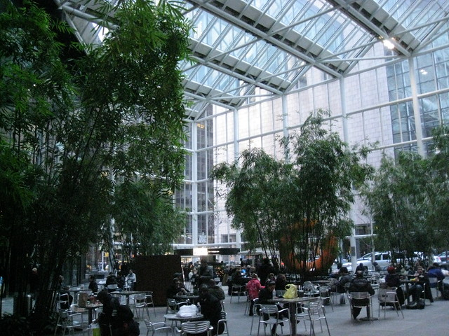 Madison Avenue IBM Plaza Atrium
