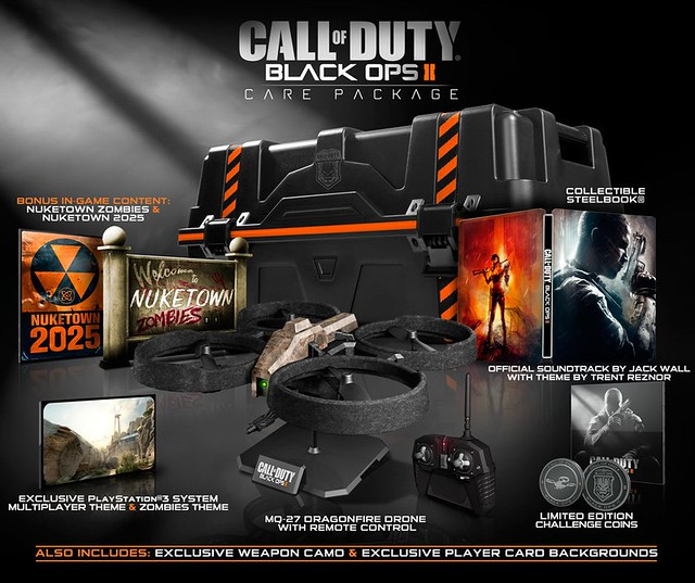 Call of Duty: Black Ops II Collector's Edition & Hardened Edition Revealed