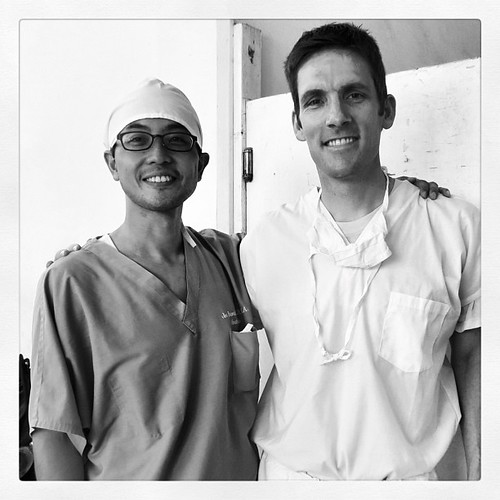 Dr. James Kim a Korean ophthalmologist and missionary who helped me with the hardest orbitotomy of my life.