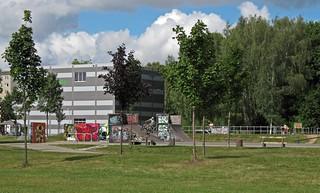 Skateranlage in Chemnitz