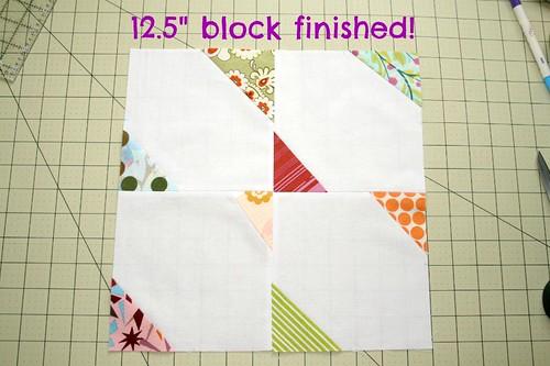 """12.5"""" butterfly block"""
