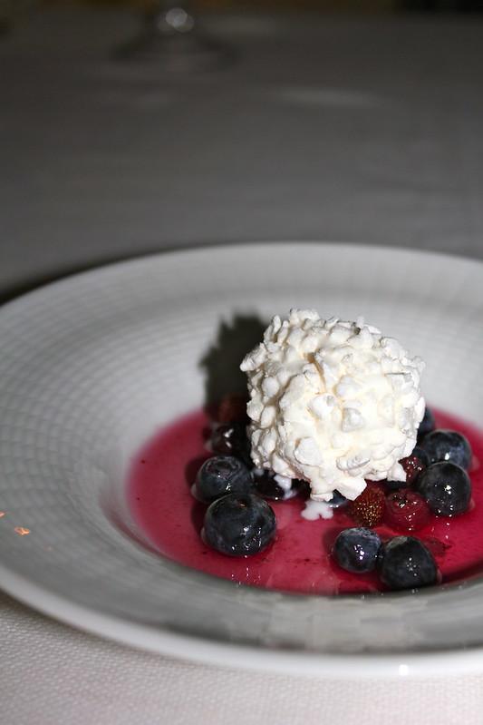 Vanilla ice ream from L'Accanto