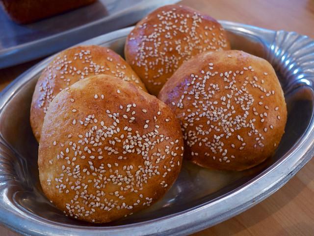 Light brioche burger buns | Flickr - Photo Sharing!