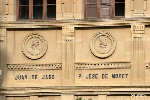 Juan de Jaso y el Padre José Moret