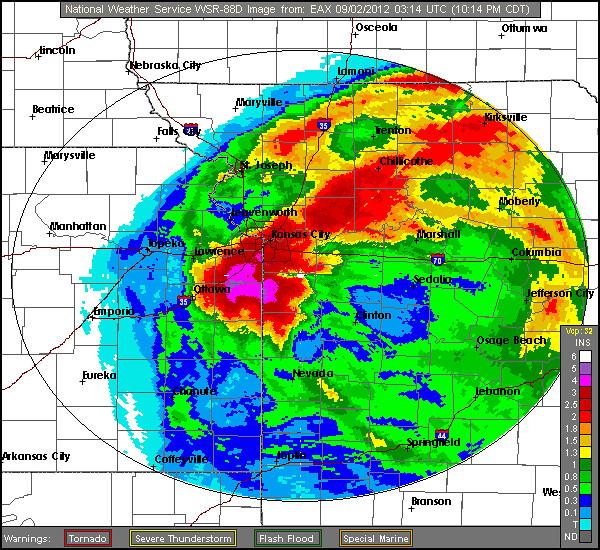 Kansas City Radar Rain Isaac Flickr Photo Sharing