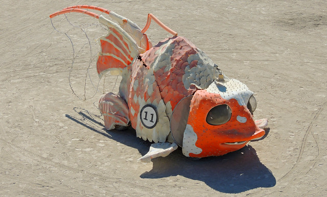 Burning Man 2012 - Goldfish Number 11