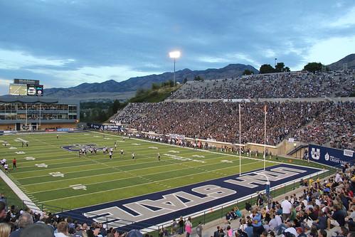 Merlin Olsen Field at Romney Stadium