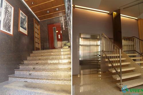 Final de obra de rehabilitacin de ascensor y reforma de for Oficina zurich zaragoza
