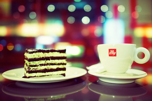 Mint Cake & Coffee