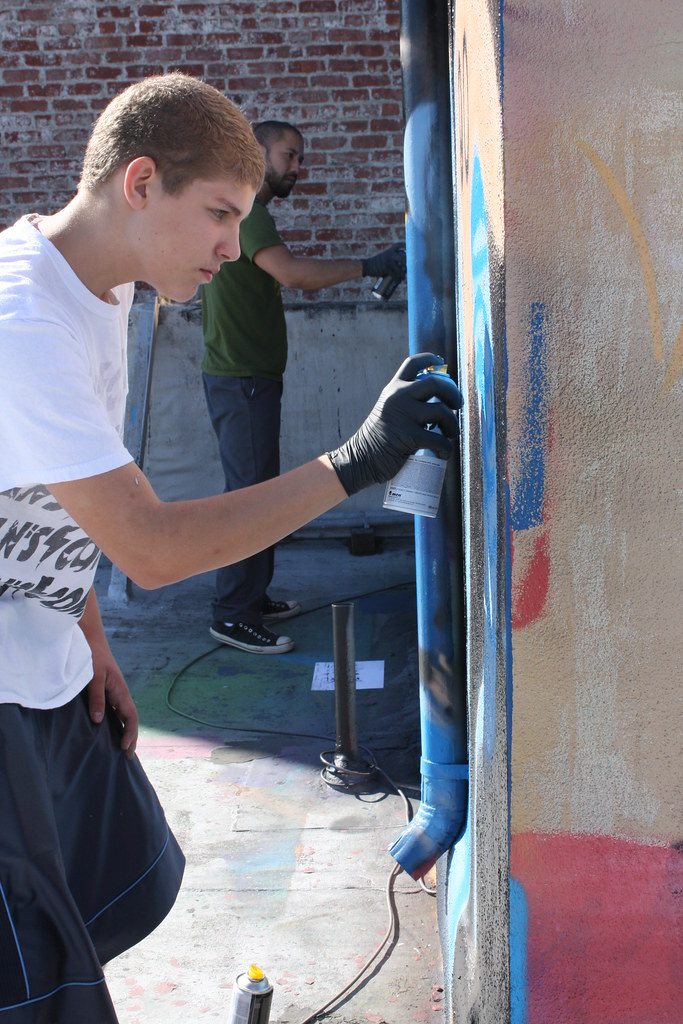 Private Graffiti Class with Nate1
