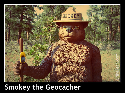 Smokey the Geocacher