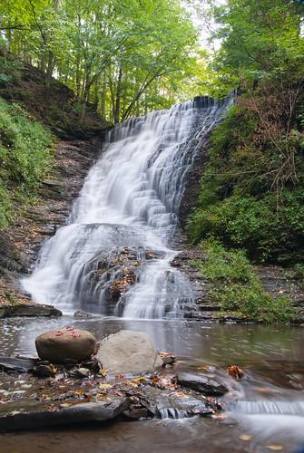waterfalls attica wny atticacascades