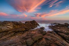 [フリー画像素材] 自然風景, ビーチ・海岸, 朝焼け・夕焼け, 風景 - アメリカ合衆国 ID:201209191600