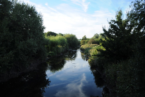 River Brent in Brent Valley golf club