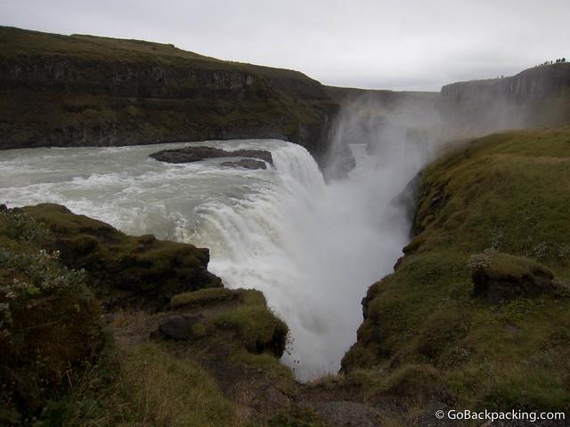 Gullfoss waterfall in Iceland (photo: David Lee)