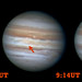 Possible impact scar on Jupiter?  9/11/12
