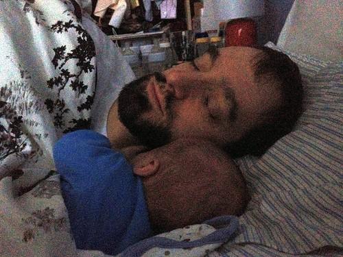 Daddy Martin Snuggles
