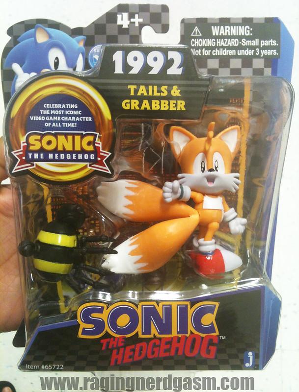 Sonic The Hedgehog Figures by Jazwares 1992 Tails & Grabber001