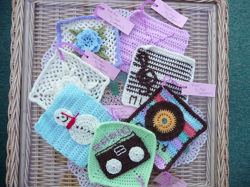 Craftymizz (Steph) (UK) Your Challenge squares have arrived thank you!