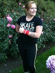 wrist wallet, val capone, skategeek, roller derby, roller skating