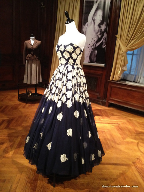 Evita Peron evening gown at Argentine Consulate_Sep 13 2012