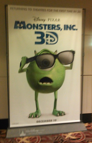 Monsters, Inc. 3D Standee
