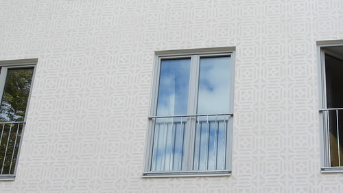 Ein Blick auf die Fassade