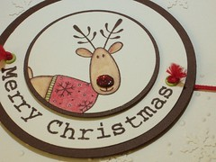 121207 Linda workshop Christmas Rudolf detail