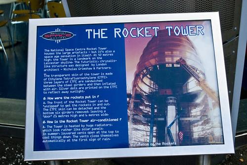 Rocket Tower Information board