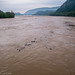 The Potomac and the confluence with the Shenandoah after Hurricane Isabel