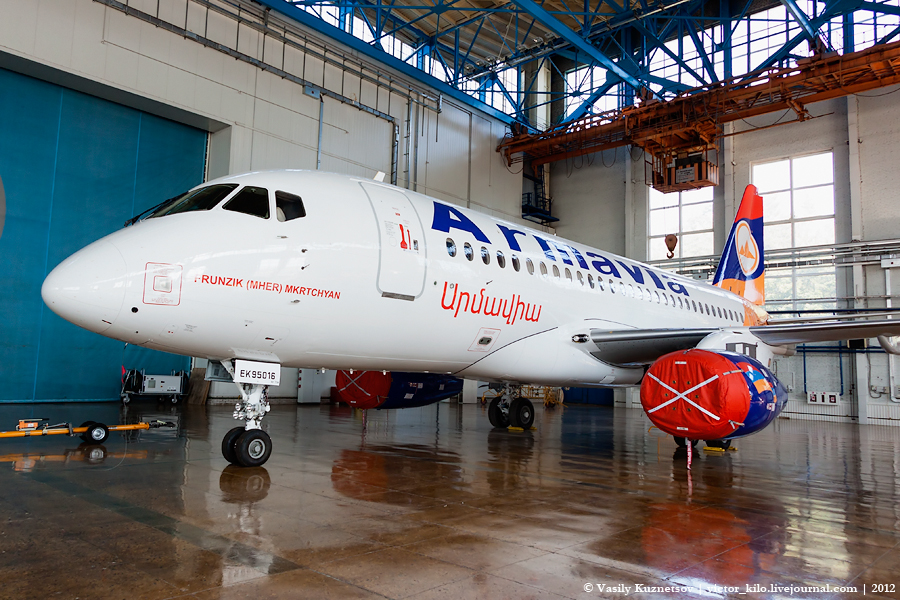 Second Sukhoi SuperJet 100 for Armavia