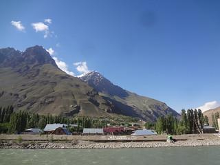 Khorug na Região Autónoma de Gorno-Badakhshan