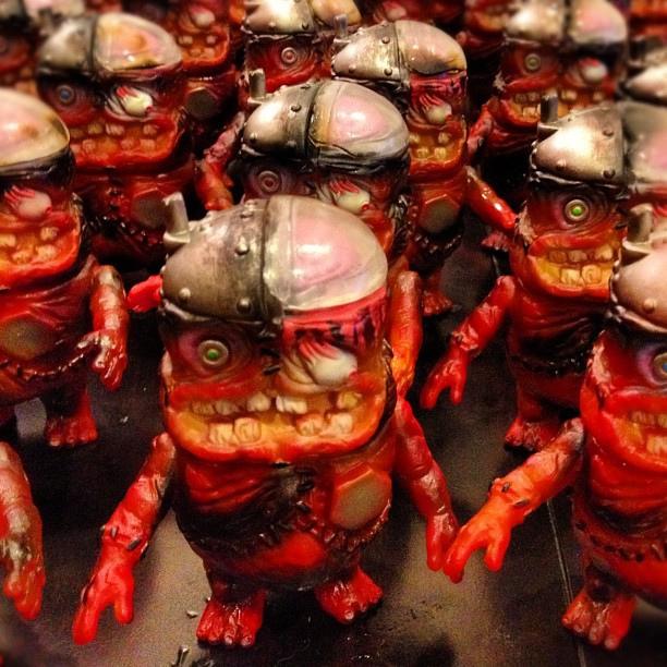 Hell Fire Burnin' Mecha Brain Cadaver Kids