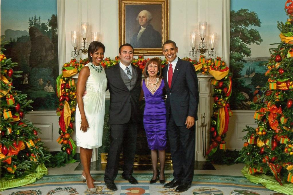 2010 President Obama White House Christmas Party