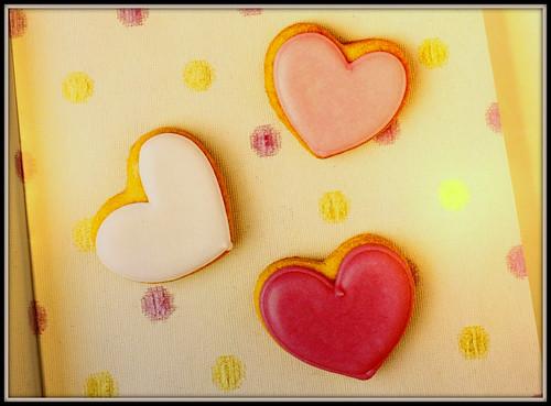 corazones con marco