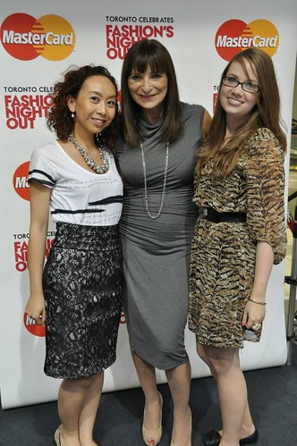 MasterCard Canada Lounge with Jeanne Beker