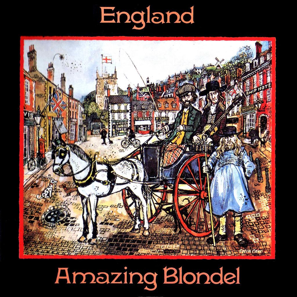 Amazing Blondel Lp Cover Art