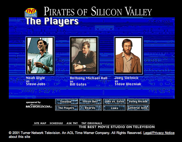 Pirates of Silicon Valley Website