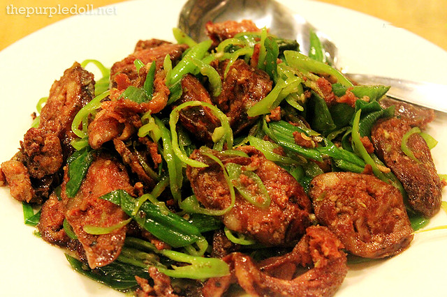 Hunan Sausage Off-Menu Special