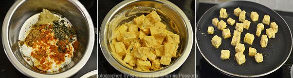 How to make paneer tikka masala - Step1