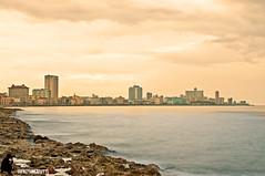 La Habana desde el Malecón