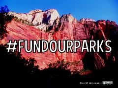 #FundOurParks
