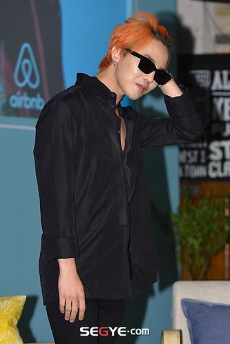 G-Dragon - Airbnb x G-Dragon - 20aug2015 - Segye - 06