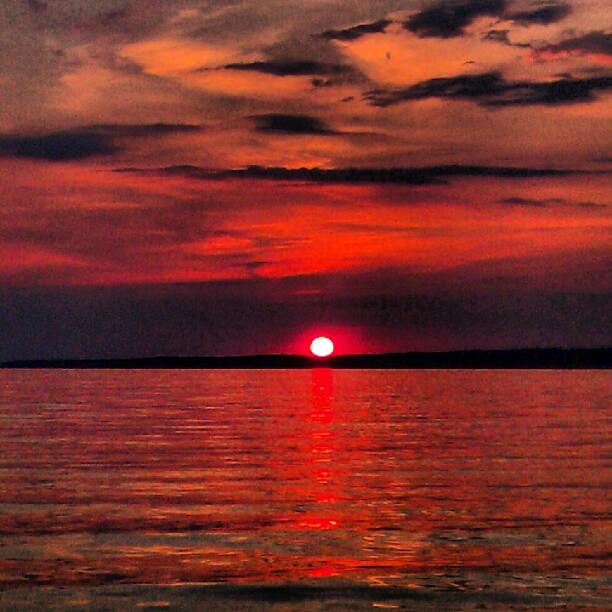 Oneida Lake Tonight